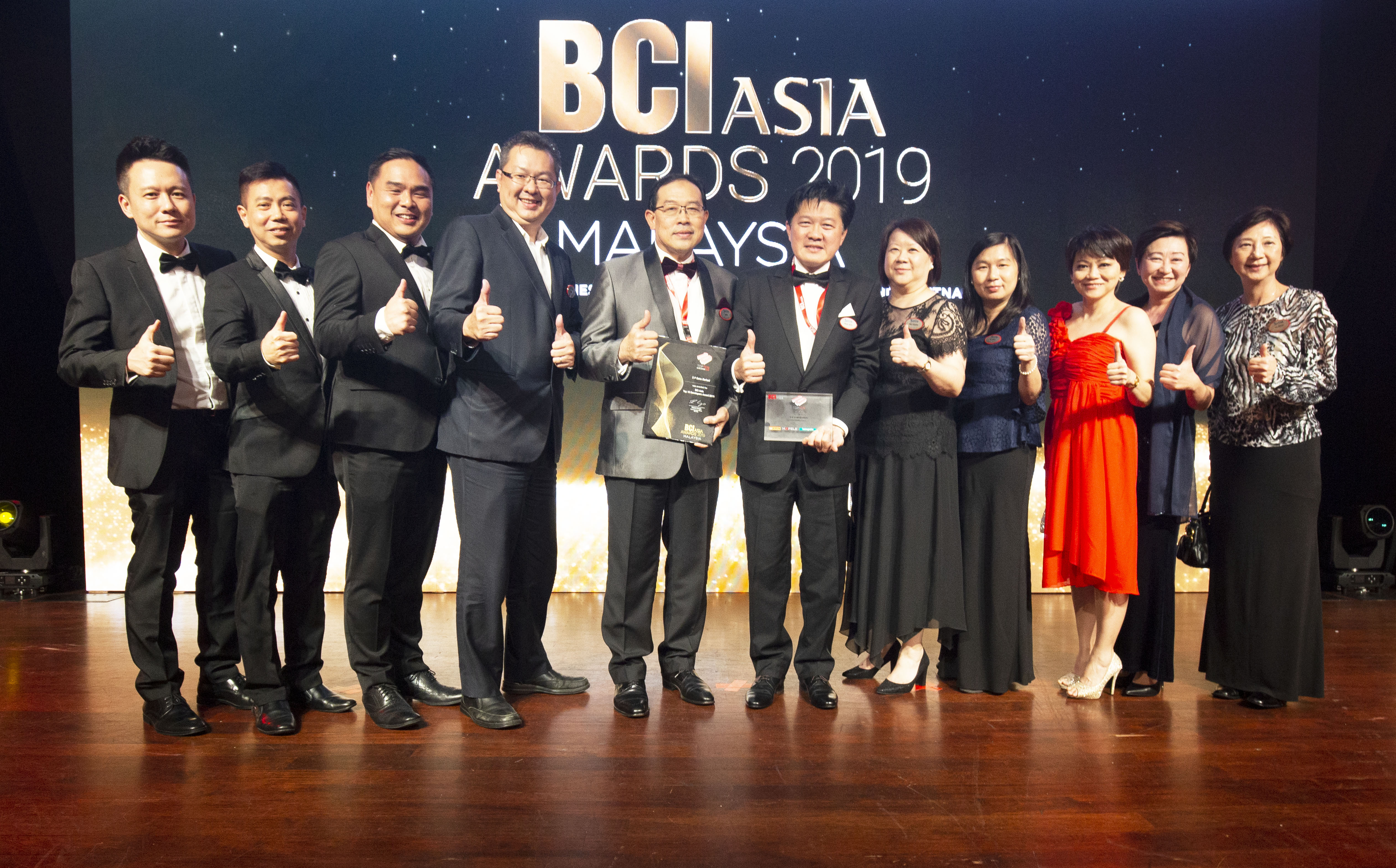 S P Setia Honoured at BCI Asia's Top Ten Developer Awards 2019 for the Ninth Time