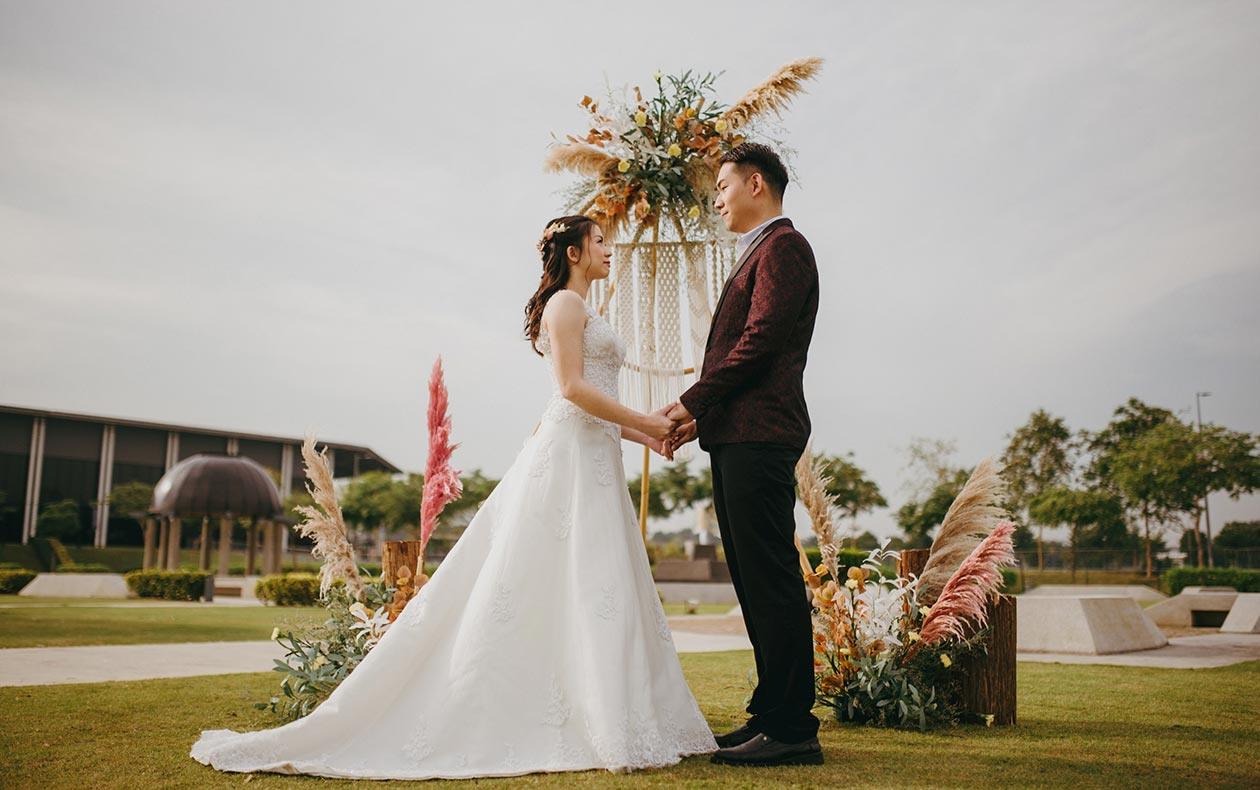 Wedding at Event Park