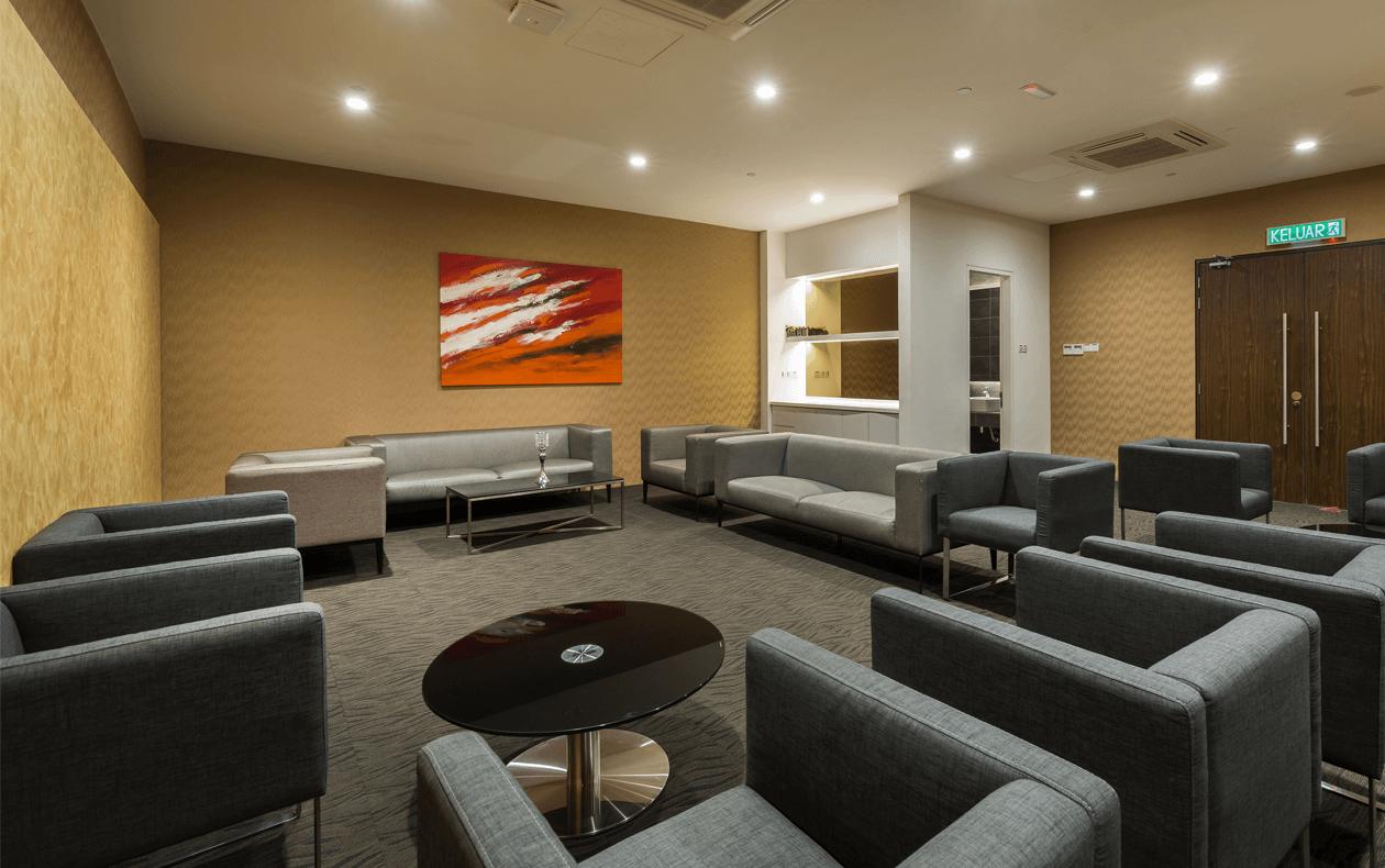 VIP Holding Room