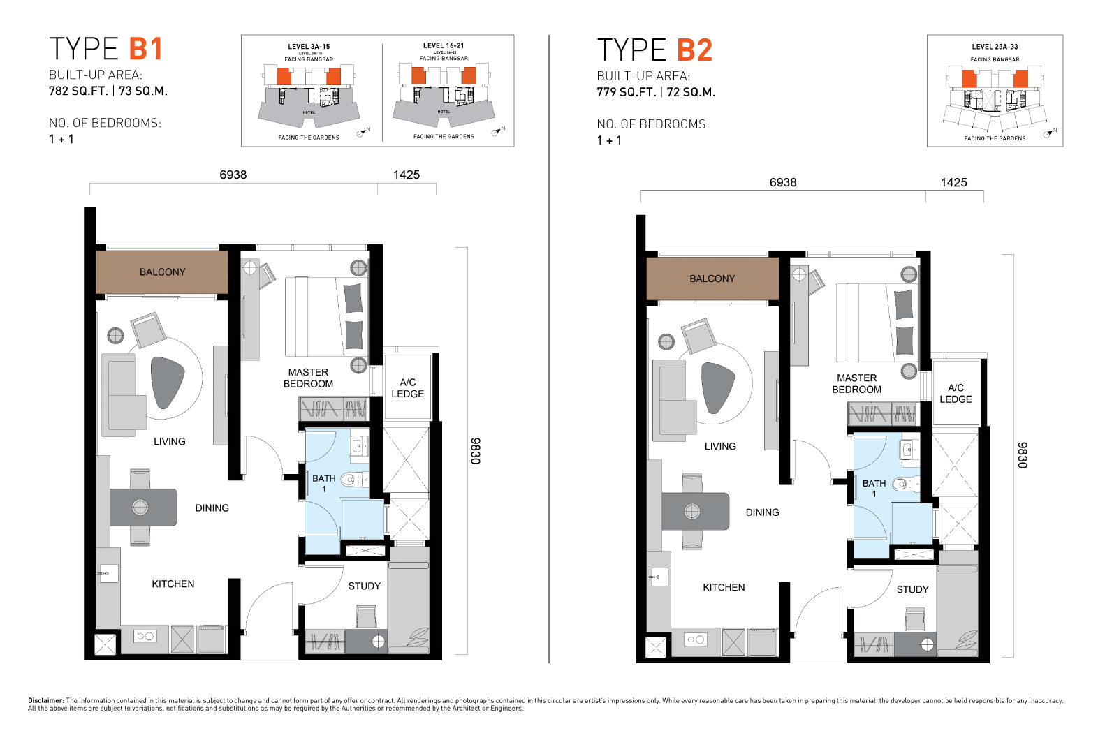 ViiA Unit Plan Type B1 & B2