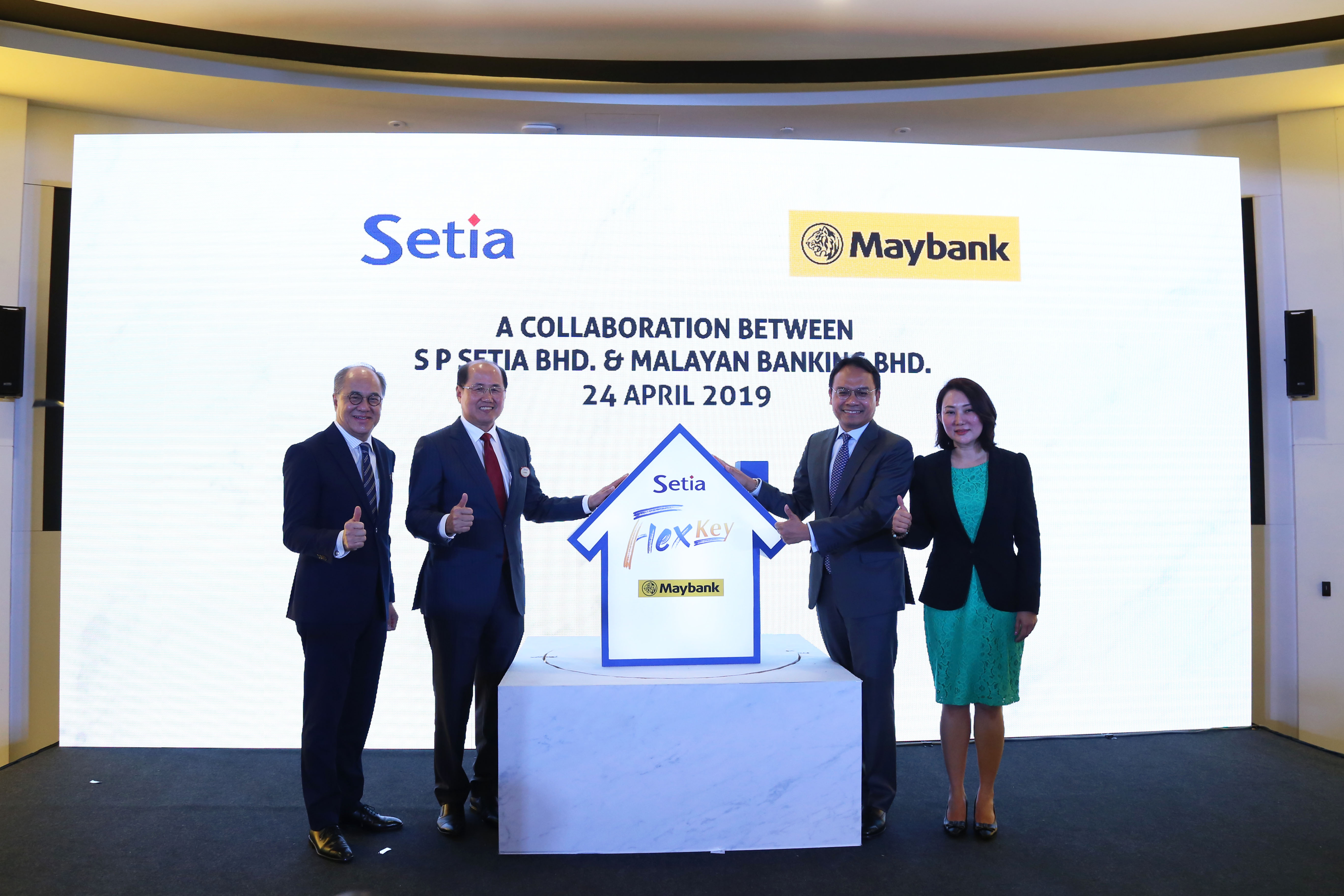 SETIA, FIRST TO OFFER NEWLY-LAUNCHED HOMES UNDER ITS RENT-TO-OWN SCHEME 'FLEXKEY' IN COLLABORATION WITH MAYBANK