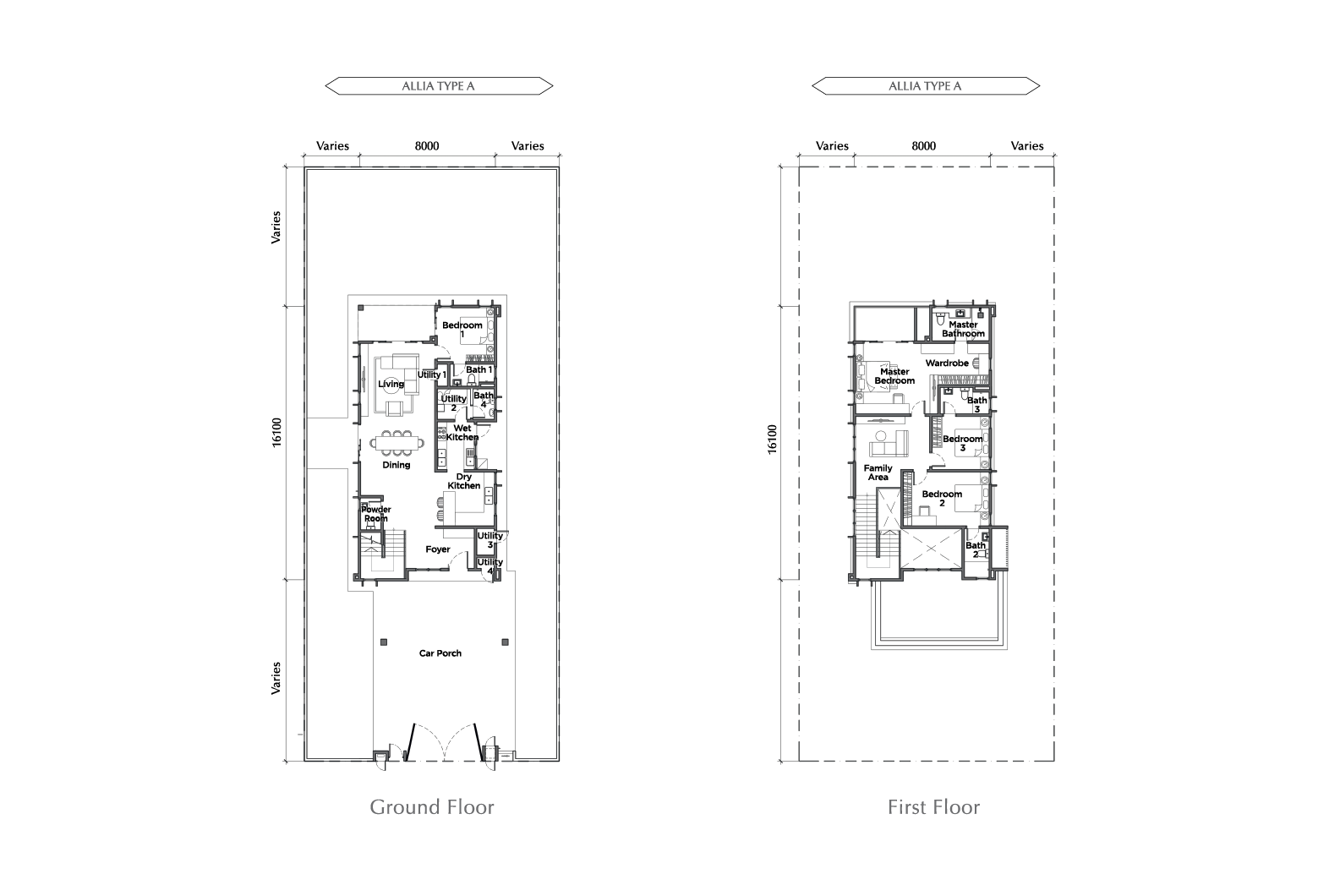 ALLIA FLOOR PLAN TYPE A