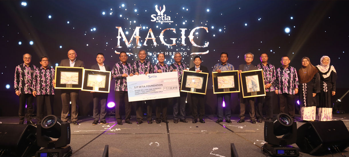 S P Setia Foundation raises RM7.13mil at Charity Dinner