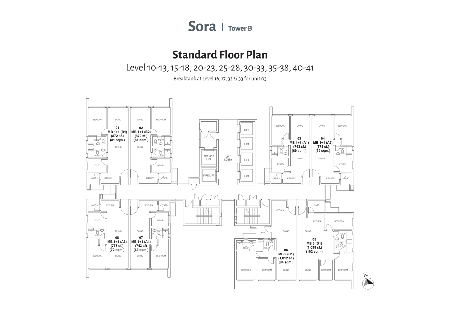 Balcony Floor Plan
