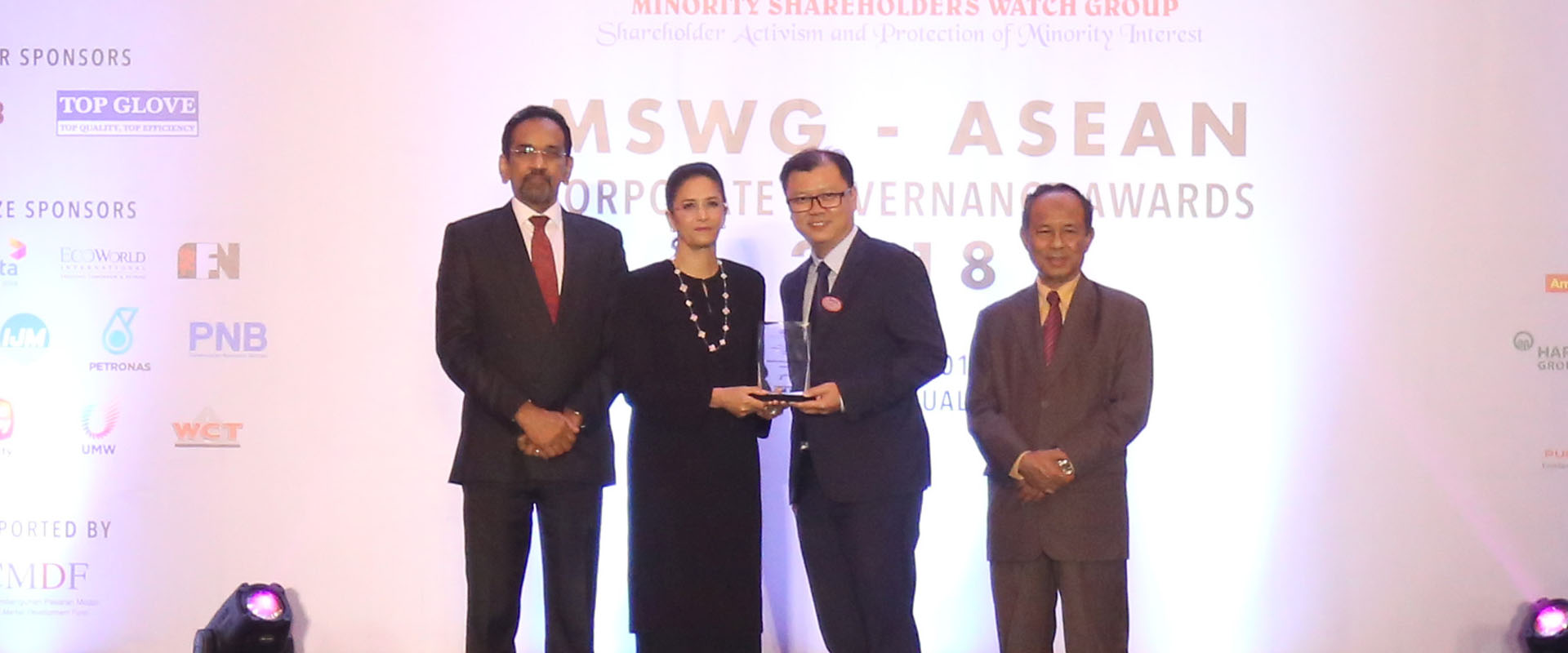 S P Setia Recognised for its Excellence in Corporate Governance