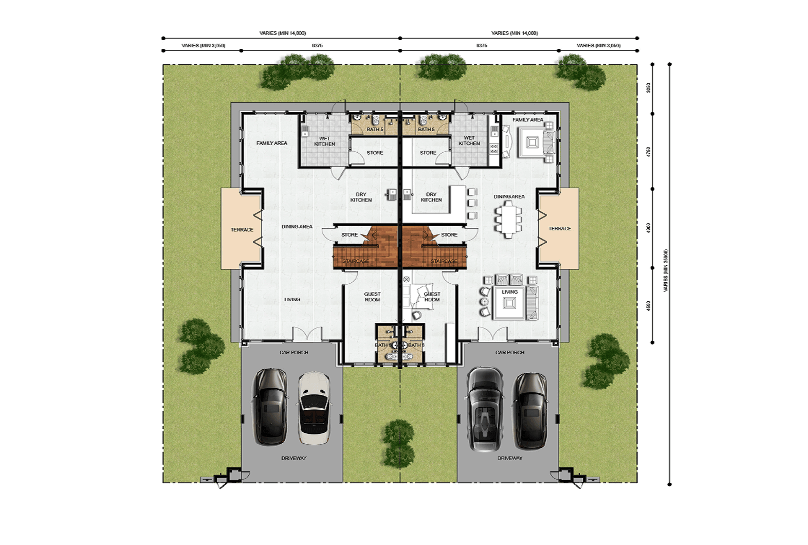 Fernsworth Floor Plan (Ground Floor)