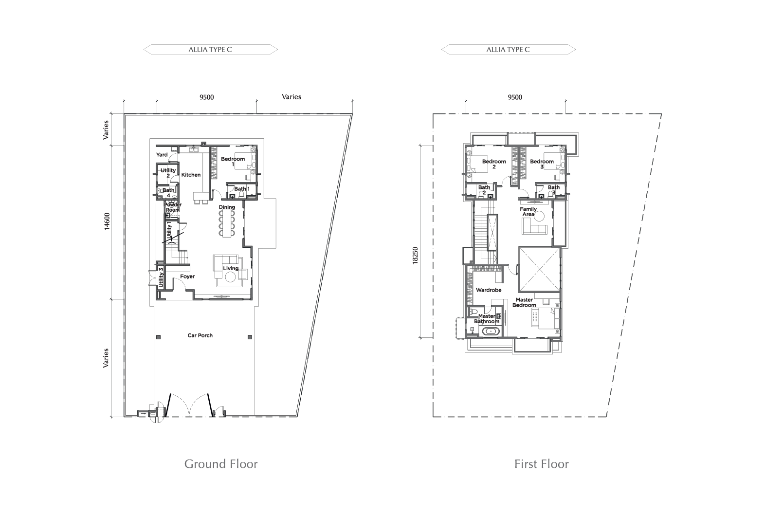 ALLIA FLOOR PLAN TYPE C