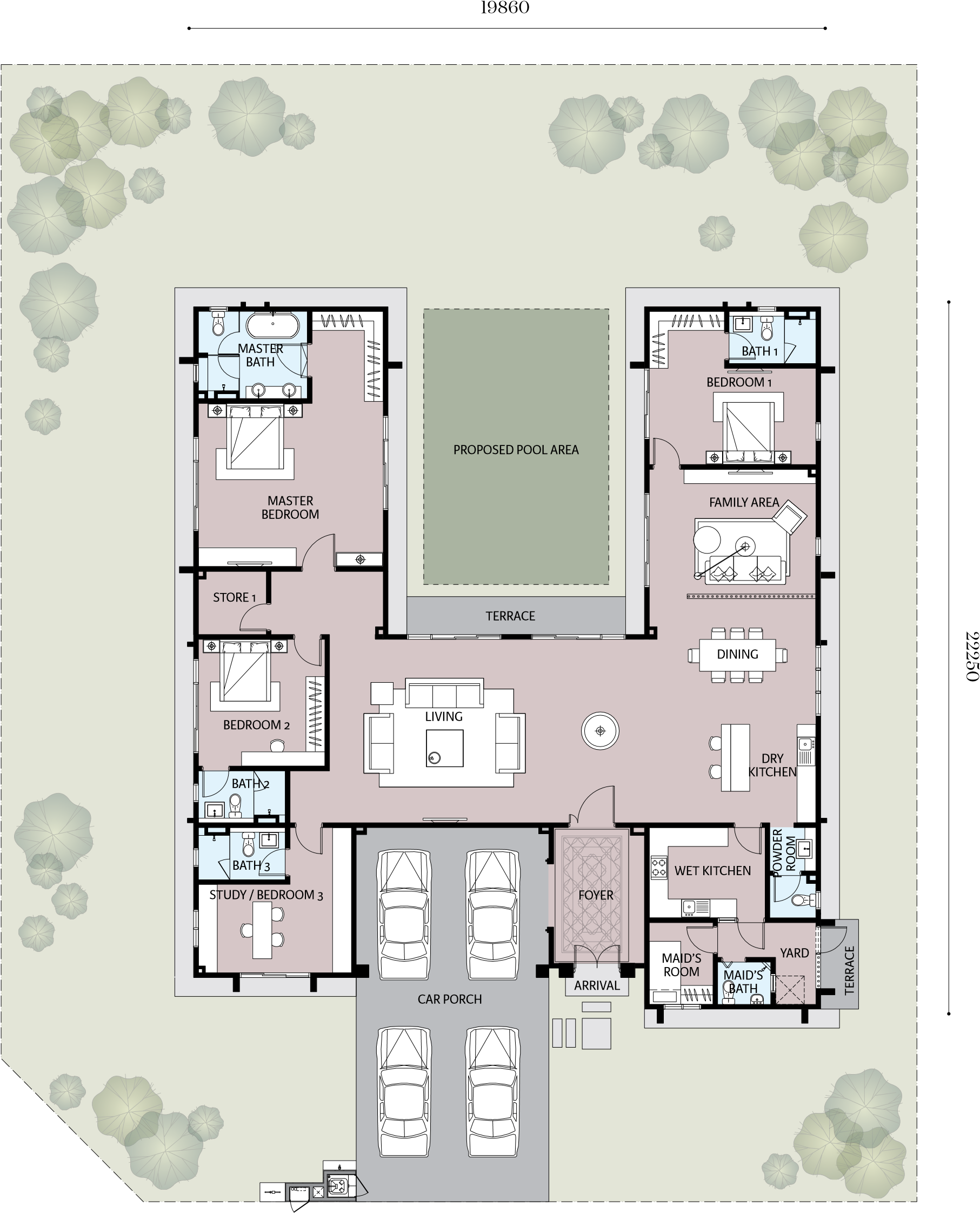 Alpinia 2 Floor Plan