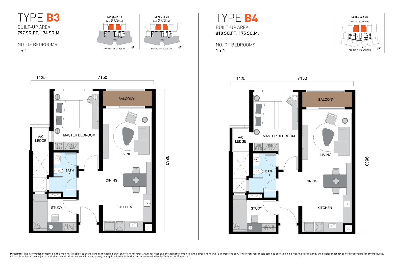 ViiA Unit Plan Type B3 & B4