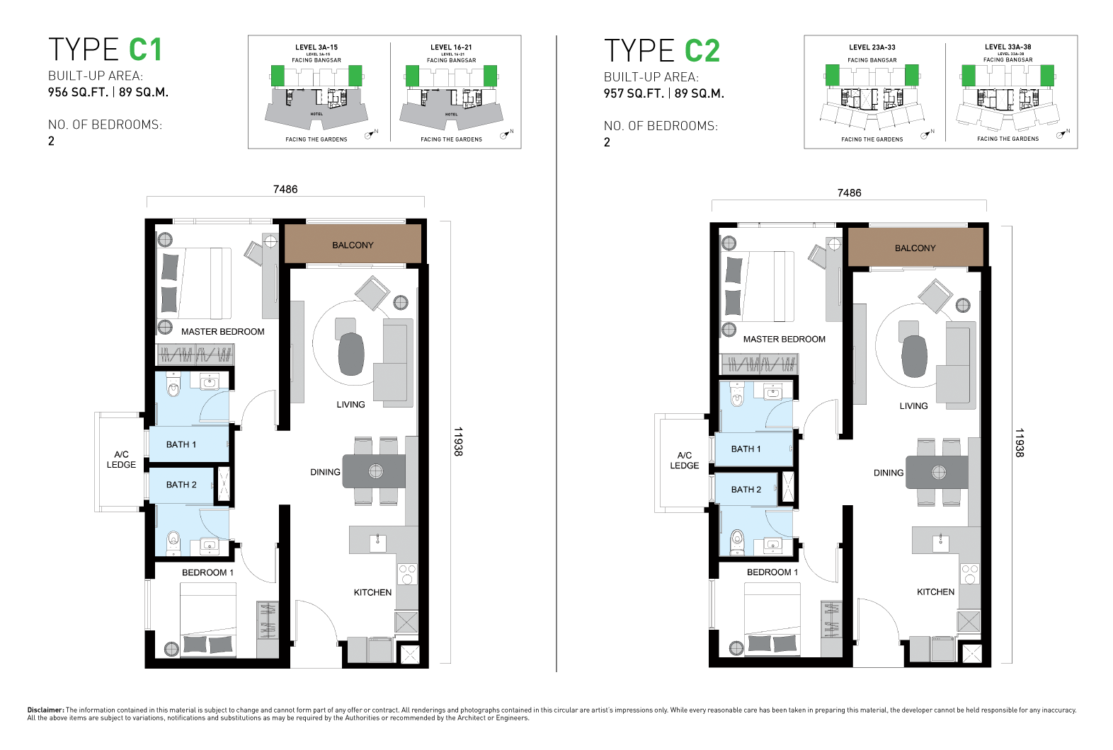 ViiA Unit Plan Type C1 & C2