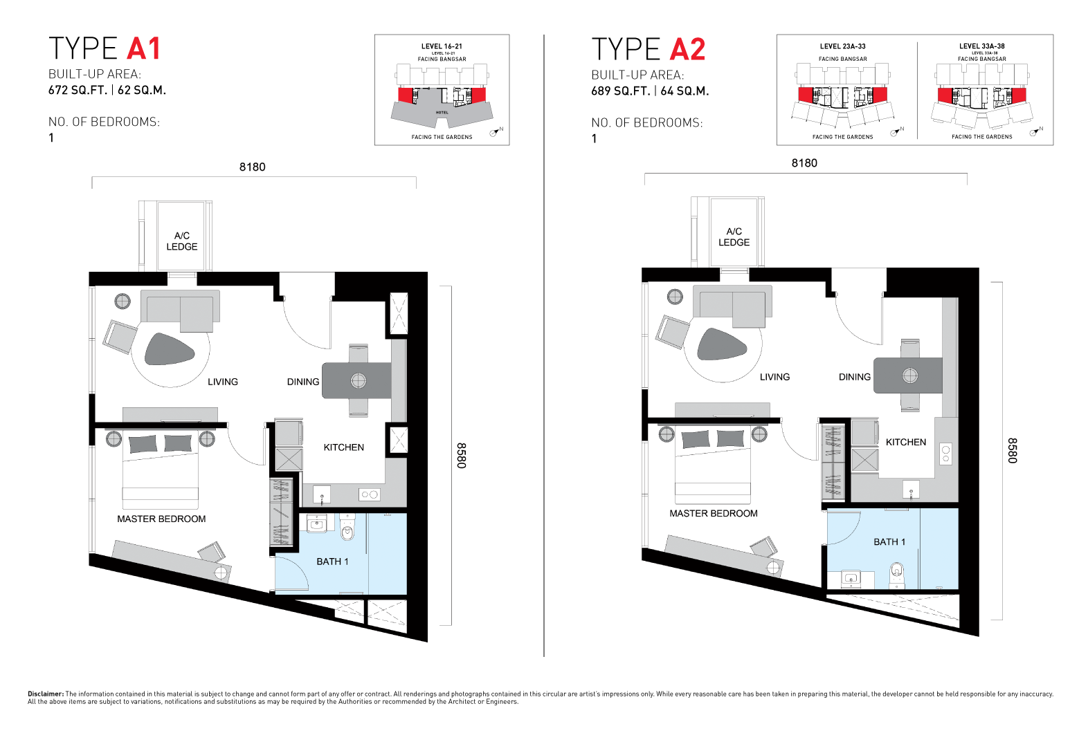 ViiA Unit Plan Type A1 & A2