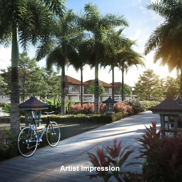 RESORT-STYLE FACILITIES - Breezy pavilions, an open lawn, a 3-lane jogging track and more nurture lively activity in community.
