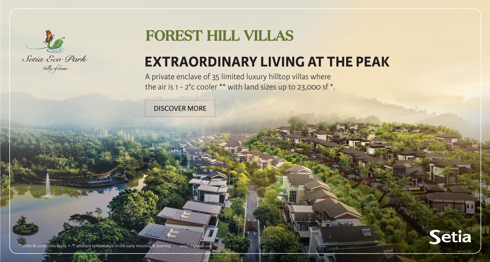 Forest Hill Villas - Extraordinary Living At The Peak