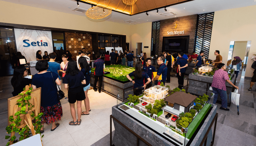 Grand Opening of Setia Mayuri Welcome Centre and Show Village