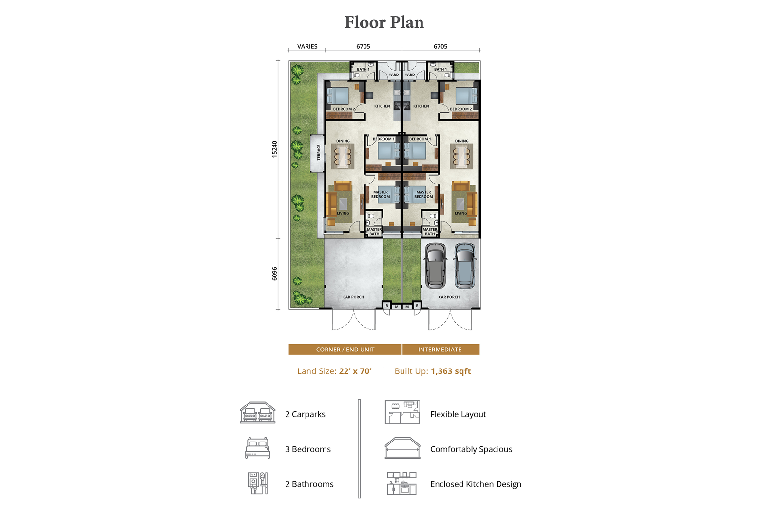 Amansara South - Bliss Floor Plan